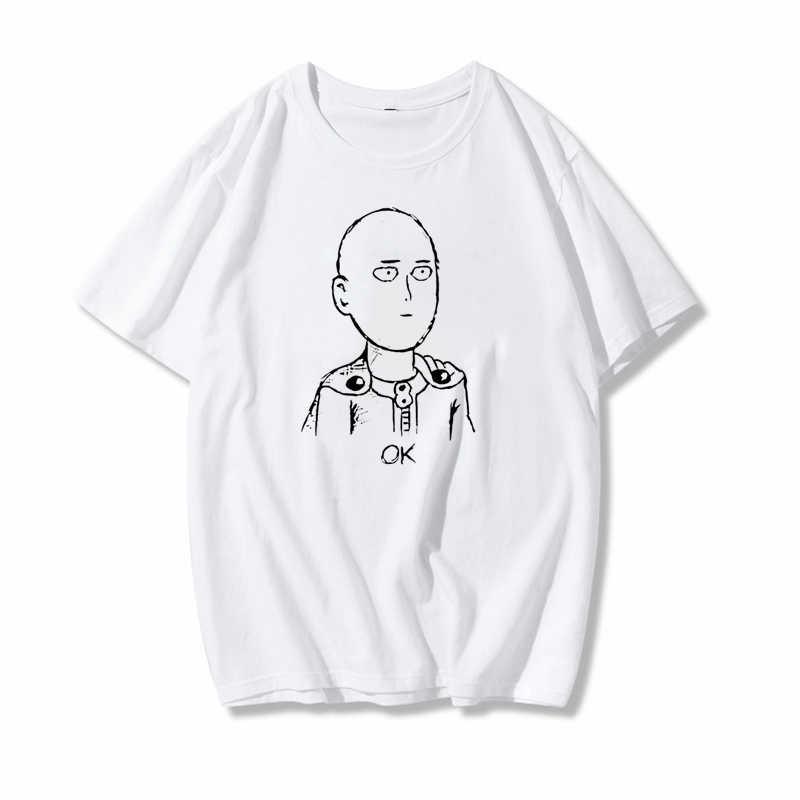 2020 מצחיק גברים ונשים חולצה קריקטורה יפני אנימה אחת-איש סופרמן Harajuku חולצה קיץ רחוב בגדים