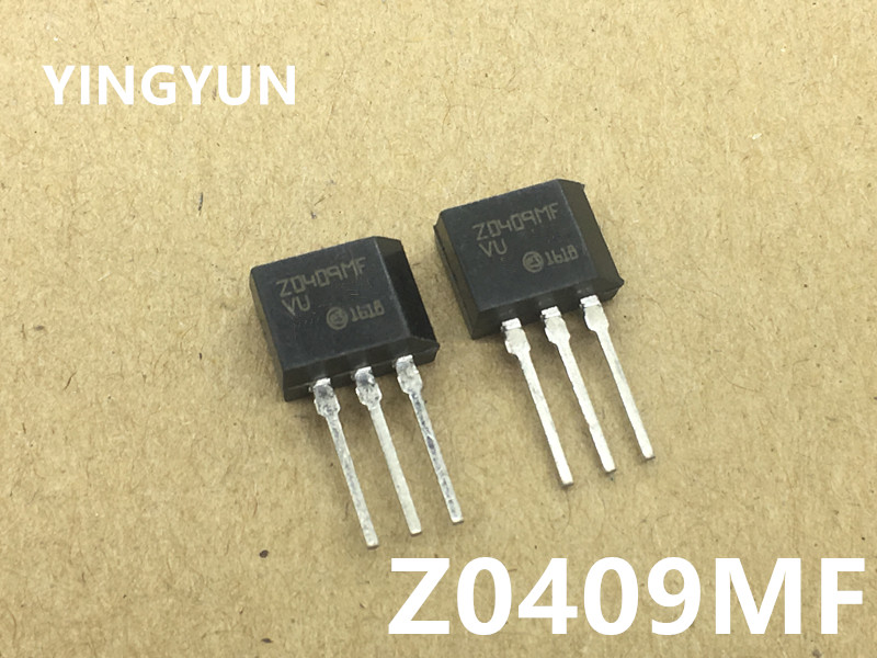10pcs/lot ZO409MF <font><b>Z0409MF</b></font> Z0409 TO-202 600V/4A/0.2W Bidirectional thyristor New original image