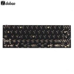 DZ60 niestandardowe klawiatura mechaniczna PCB 60% rodzaj Usb C wsparcie strzałka klucz Alu płyta Gateron przełącznik dla Xd60 Gh60 RGB programowalny