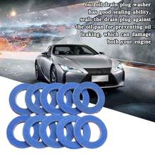 Joint de vidange pour Toyota Y1G7, 10/12 pièces, pièce de remplacement pour moteur de voiture 90430 – 12031, 10 pièces