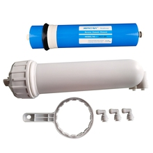 400 GPD RO Reverse Osmosis Membrane,1/4inch Quick-Connect Fittings,for Under Sink Home Drinking RO Water Filter System