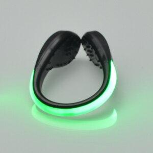 Image 5 - Защищенный от непогоды светильник с зажимом для обуви RGB, для бега, ходьбы, велосипеда, велосипеда, светодиодный светильник для спорта светильник, светящаяся Ночная сигнальная лампа