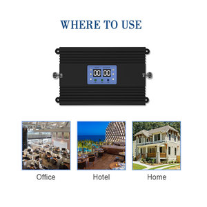 Image 4 - Lintratek 80db High Gain Power GSM 3G UMTS 2100mhz 900mhz Mobile Signal Repeater AGC MGC Cell Phone 3G Amplifier Signal Booster*