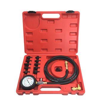 Engine Oil Pressure Test Kit Gauge Diagnostic Tester Dectector Tool Set 0-140PSI C63D