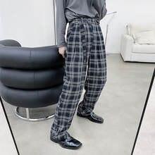 Для мужчин брюки 2020 Новинка осени в сплошном цвете широкие