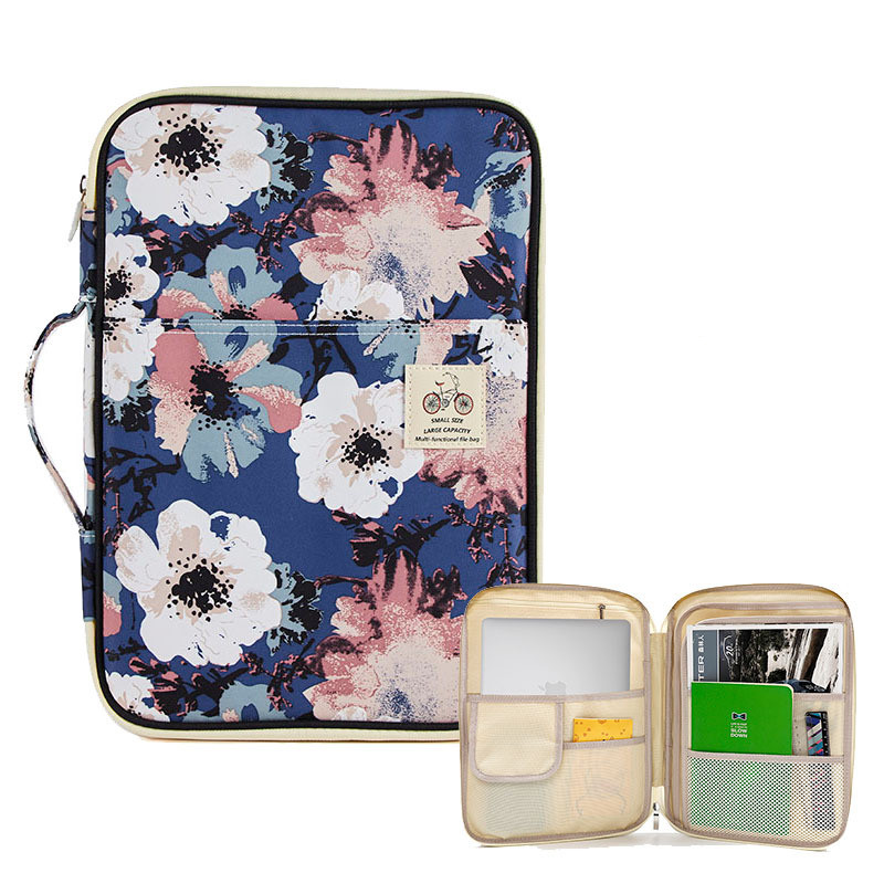 1PC New Arrival Multifunctional Waterproof A4 File Folder Document Organizer Bag Desk Storage Bags Business Travel Tablet  Bag