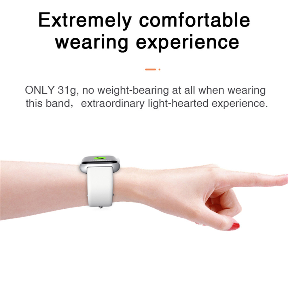 Smart Watch Men Women Blood Pressure Monitor Smart Clock Heart Rate Oxygen Monitor WhatsApp Reminder Smartwatch For Android IOS