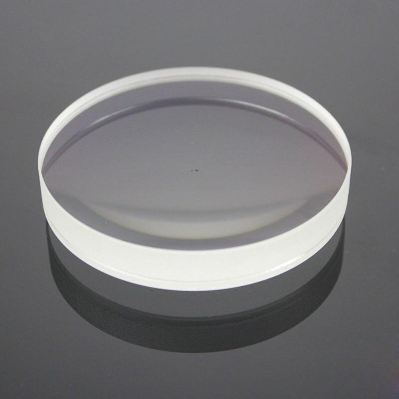 75mm verre optique focale 150mm FGMC double lentille convexe pour bricolage objectif télescope astronomique