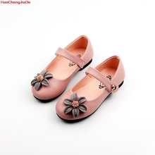Новинка; детская повседневная обувь с милыми цветами; цвет черный, белый, розовый; обувь Mary Jane; мягкие милые мокасины для маленьких девочек; ; сезон весна