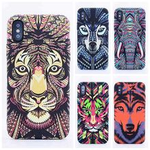 Luminous Grinding Applicable To Apple XR King Of Forest Mobile Shell Original Relief Animal For iPhone Xs Max X 7 8 6