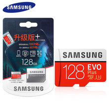 SAMSUNG – carte mémoire Micro SD SDHC/SDXC, classe 10 EVO +, 32/64/128/256 go, UHS/TF, envoi gratuit