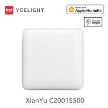 Yeelight – plafonnier intelligent XianYu C2001S500 50W ac 220v, édition blanc pur, Bluetooth, télécommande, commande vocale, application, fonctionne avec Homekit