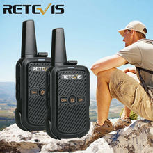 2pcs Retevis RT15 Mini Walkie Talkie Portable Two Way Radio Station UHF VOX USB Charging Transceiver Communicator Walkie-Talkie(China)