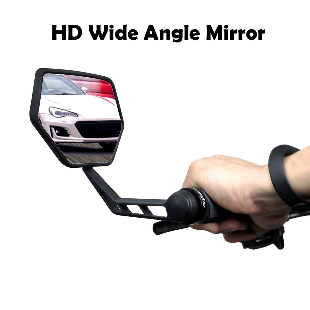 Зеркало заднего вида для велосипеда EasyDo, регулируемое широкое зеркало заднего вида для велоспорта, 1 пара