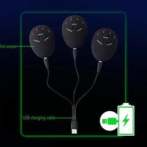Image 5 - Caricatore USB SME Addominale Stimolatore Muscolare Trainer Elettrico Cellulite Massager Del Corpo di Massaggio Che Modella Cintura Sottile