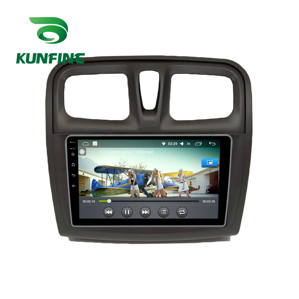 Android Car DVD GPS Navigation Multimedia Player Car Stereo For Renault sandero symbol 2017 Radio Headunit