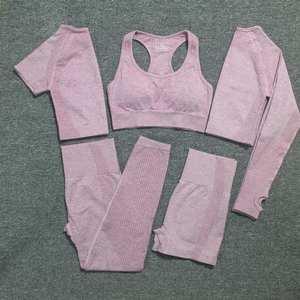 Workout-Clothes Gym-Set Active-Wear Sport-Suit Vital Seamless Women