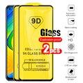 Защитное стекло 9D для Redmi Note 9, 2 шт., Защитное стекло для Xiaomi Redmi Note 9 Note 9 Not9 Not9, защитная пленка для экрана Xiomi Xaomi 6,53
