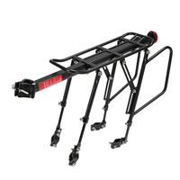 CITYWAY Bicycle Aluminum Alloy 90KG Luggage Rear Carrier Shelf Bike Rack Luggage Rear Carrier Trunk for MTB Bicycle