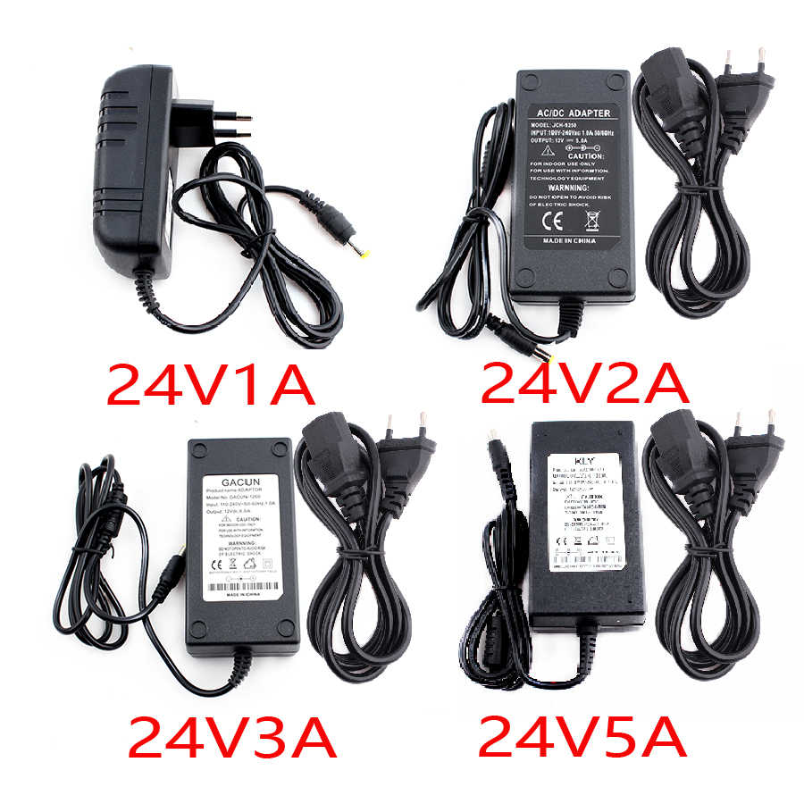 12V 24 V Universele Power Adapter Led Strip Charger Eu Us 12 24 V Volt Power Adapter Ac Dc 220V Naar 12V 24 V 1A 2A 3A 5A 6A 8A 10A