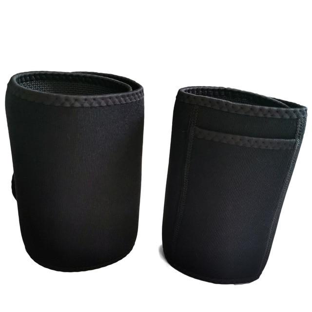 Women High Waist Thigh Trimmer Neoprene Sweat Shapewear Slimming Leg Body Shapers Adjustable Waist Trainer Slimming Belt 5