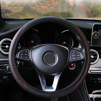 Micro Fiber Leathe Car Steering Wheel Cover for Jaguar FX XE X Type S E F-pace XJ for Hyundai i20 i10 Car Interior Accessories image