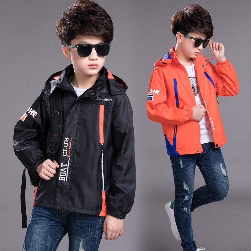 BOY'S Raincoat Jacket 2019 Autumn Clothing New Style Children Windproof Coat Outdoor Clothing Fashion