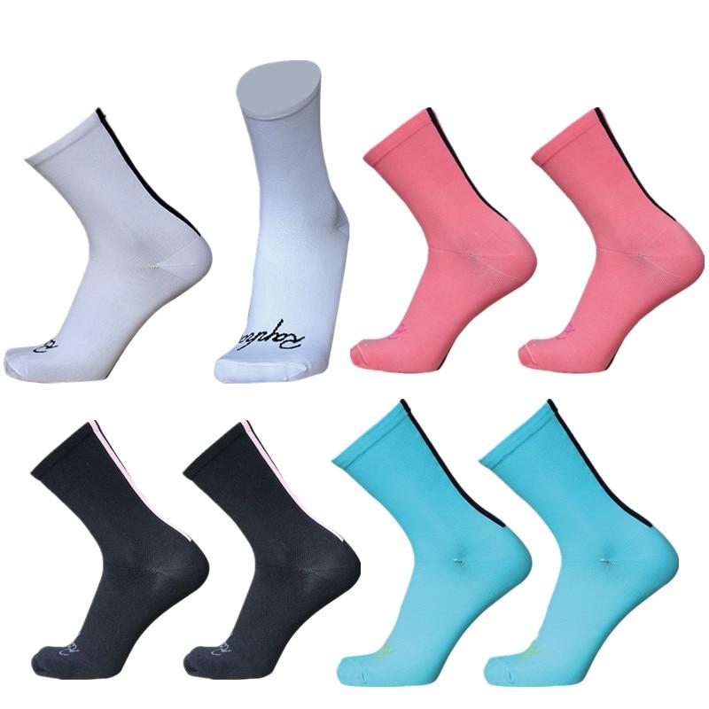 Новые велосипедные носки rapha, компрессионные и дышащие спортивные велосипедные носки, носки для велоспорта