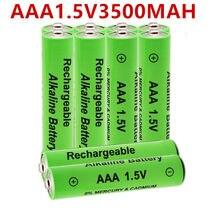 20PCS 1.5V AAA bateria recarregável 3500mah AAA 1.5V Alcalinas Novas brinquedo AAA 3500mah bateria Recarregável batery para diodo emissor de luz