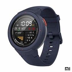 Amazfit verge xiaomi smartwatch deportivo-reloj deportivo gps   sensor de frescura cartão   ip68: resistência à água  