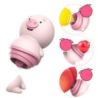 Sex Spielzeug für Frau Nettes Schwein Zunge Lecken Vibrator Nippel Massager 6 Modi Klitoris Stimulator Weibliche Masturbator