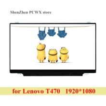 B140HAN02.4 14.0 אינץ מחשב נייד LCD מסך עבור Lenovo thinkpad t470 מחברת LCD תצוגת פנל רזולוציה 1920 × 1080 IPS eDP 30 סיכות