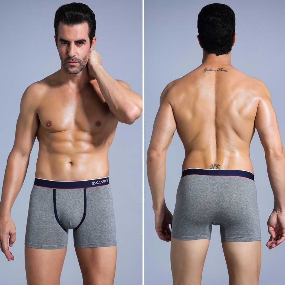 Erkek Boxer iç çamaşırı boksörler erkekler rahat külot külot Cueca Boxershorts Homme adam iç çamaşırı erkek külot