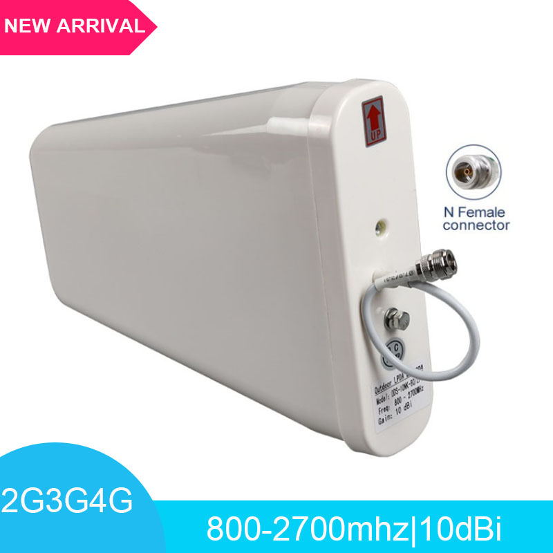 2G 3G 4G Antenna Outdoor 800-2700 MHz Periodic External LPDA Antenna For Mobile Phone Signal Repeater Booster Amplifier