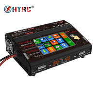 HTRC HT306 Balance Charger DC DUO 600W*2 30A*2 Dual LCD Touch Screen RC Battery for Lilon/LiPo/LiFe/LiHV Battery Charger