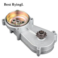 49cc pocket bike liya front gearbox transmission gear box mini moto atv quad 2 stroke engine parts accessories