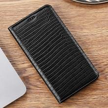 Lizard Grain Genuine Leather Flip Cover Case For Nokia X5 X6 X7 1.1 1.3 2.1 2.2 2.3 3.1 4.2 5.1 6.1 7.1 7.2 8.1 8.3 Plus