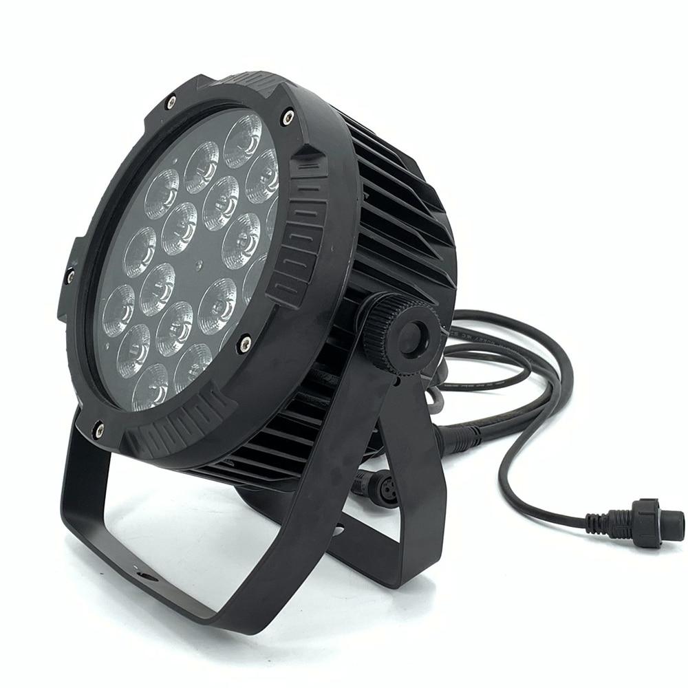 IP65 Waterproof Led Par Lights,18x18W RGBWA UV 6IN1 18X12W  RGBW 4in1 LED PAR  DMX Control Stage DJ Equipment Dj Disco Lights