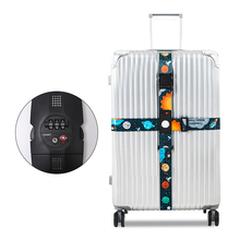 The New Luggage rope Cross belt adjustable Travel Suitcase band Luggage elasticity Straps travel accessorie Suitcase box Straps