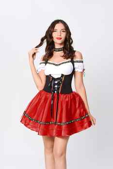 TaFiY 2020 Hot Factory direct sales German beer service Halloween cosplay maid maid service restaurant promotion service - DISCOUNT ITEM  30 OFF All Category