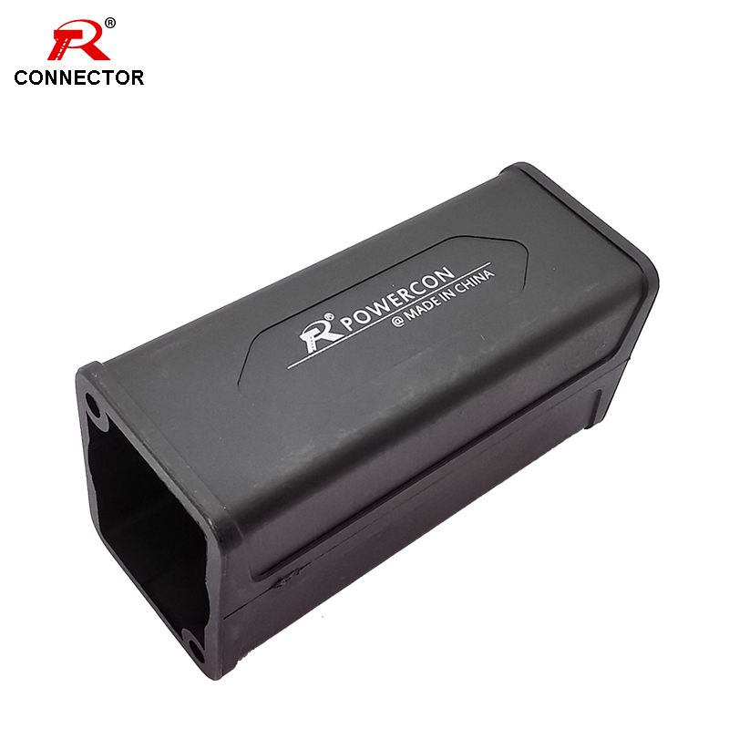 8PCS High Quality Power Speaker Couplers Extender Connector Case, for 3pins/4Pins Female Power/Speak Sockets Connecting
