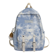 New Sport Gym Bag for Women Fitness Train Fashion Simple Leisure Style  Tie Dye Gradient Casual Backpack Traveling Outdoor