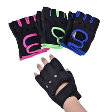 Hand-Protector Gloves 1pair Cycling Gym-Weightlifting Non-Slip Half-Finger Professional