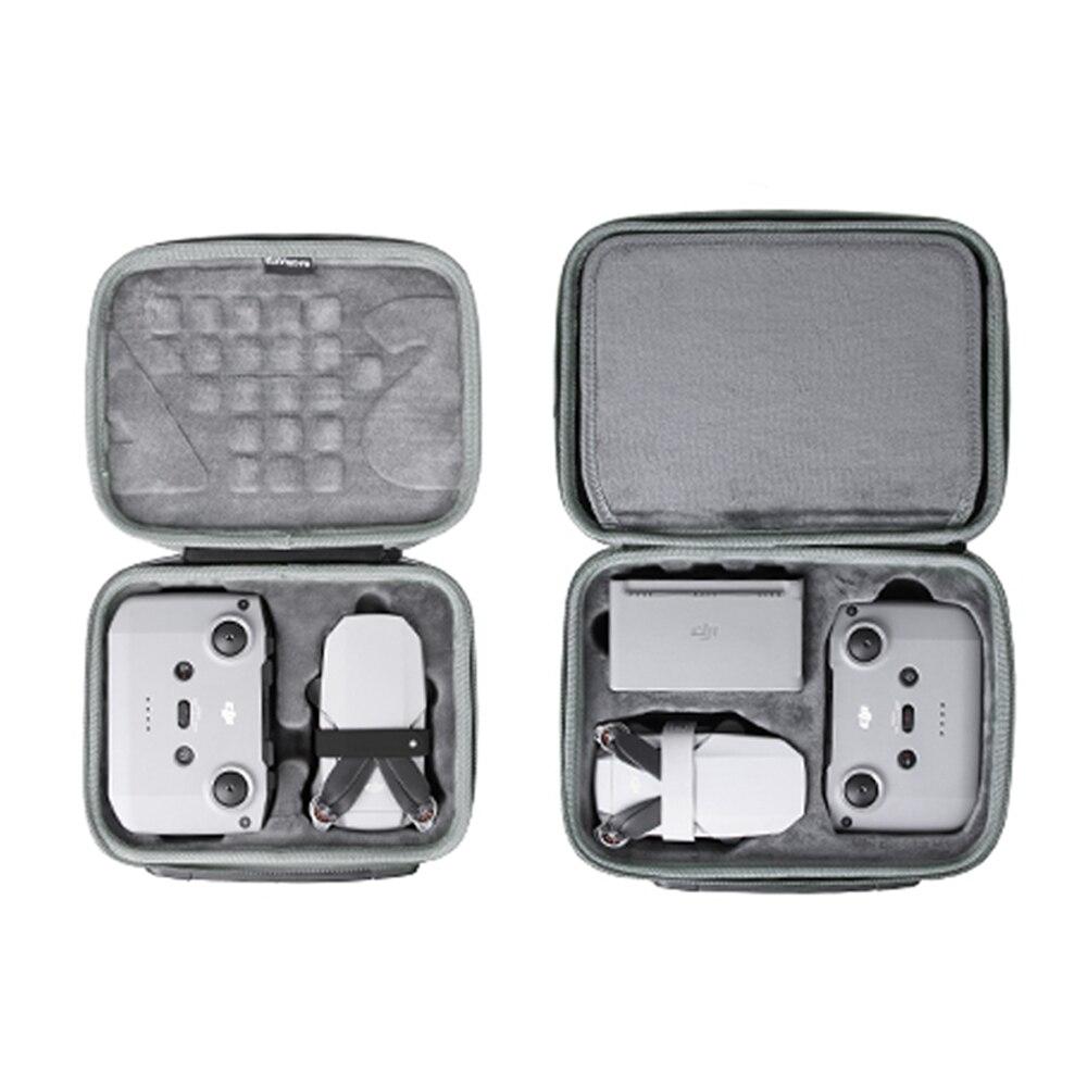 Mavic portátil à prova dmini água mini 2 caso saco avião controle remoto caixa de armazenamento da bateria bolsa ombro para dji mini 2 acessórios