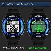 Reloj Digital Led para niños, cronómetro multifunción para deportes al aire libre, resistente al agua
