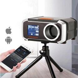 جهاز اختبار سرعة المسدس LCD من Airsoft جهاز قياس سرعة الكاميرا مع جهاز قياس سرعة الكاميرا ثلاثي القوائم مع شاشة LCD