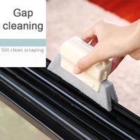 2PCS Practical Soft Glass Scraper Wiper Window Brush Cleaner Car Window Washing Kitchen Bathroom Home Multipurpose Tools