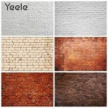 Yeele parede de tijolos brancos do vintage pano de fundo de fotografia de vinil backdrops fotográfico photo studio photophone