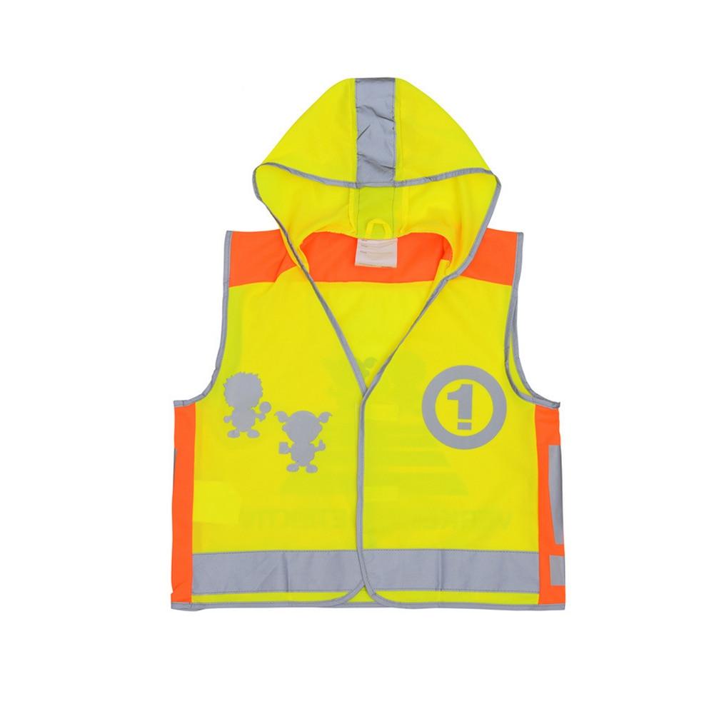 SFVest High Visibility Children Safety Reflective Vest Kindergarten Reflecting Coat Safety Clothing Reflective Clothes Vests