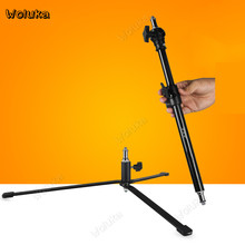 Floor Light Stand Bracket For Speedlite Flash Stand Detachable Photography Light Tripod Crossbar Lamp Holder Support CD50 T10(China)